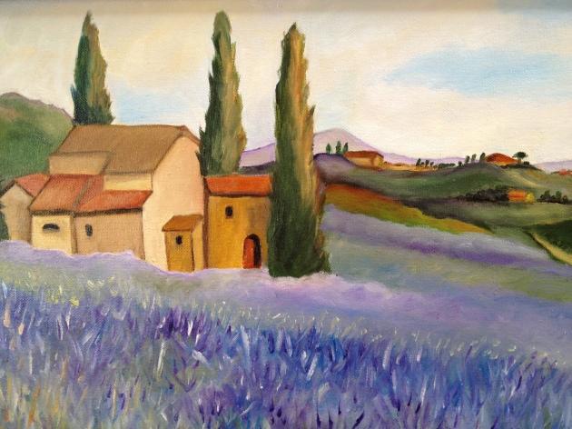 Ojai Lavender fieldsforever….