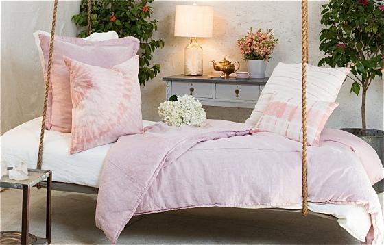 House of Cindy - Rose Quartz 100% Linen Luxury Bedding