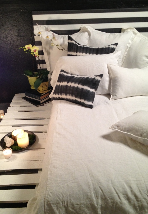 House of Cindy - Ivory Luxury Linen Bedding