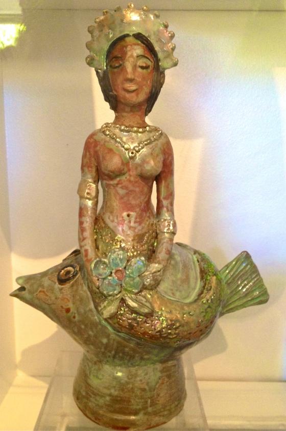 Daily Brilliant - Beatrice Wood Ceramic Sculpture